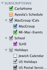 iCal-subscribe