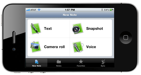 evernote_on_iPhone