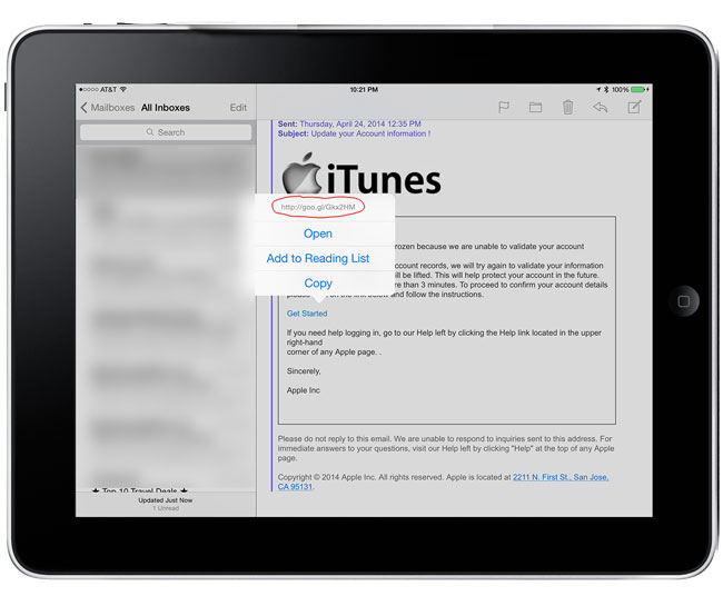 phishing_email_link_ipad