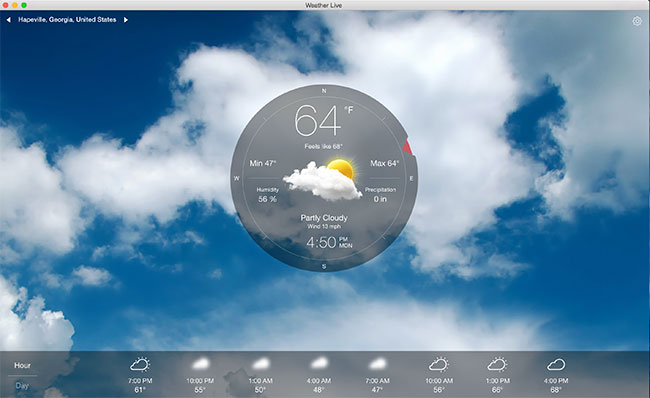 Weather Live! - A Brilliant Weather App for your Mac - MacGroup-Detroit